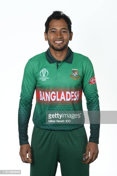 Mushfiqur Rahim of Bangladesh poses for a portrait prior to the ICC Cricket World Cup 2019 at the Park Plaza Hotel on May 25 2019 in Cardiff Wales