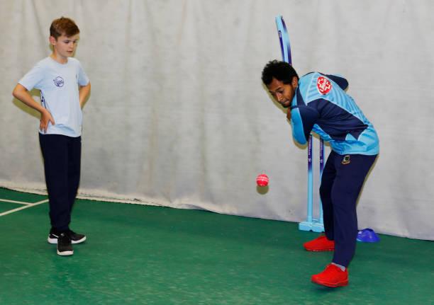 GBR: Cricket 4 Good Clinic: Bangladesh - ICC Cricket World Cup 2019