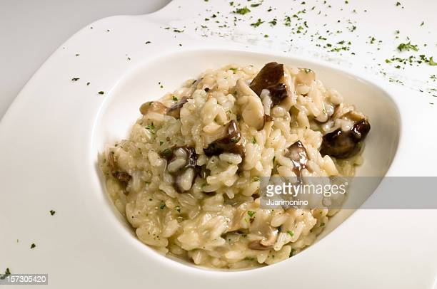 Pilzen und Trüffel-risotto