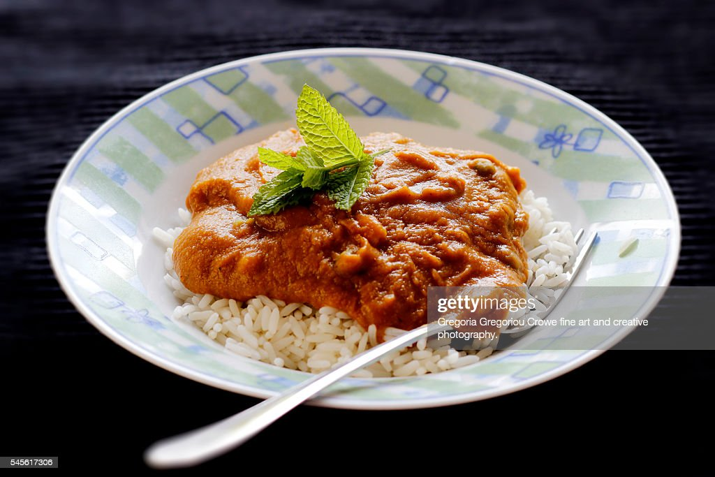 Mushy Vegetable Curry : Stock Photo