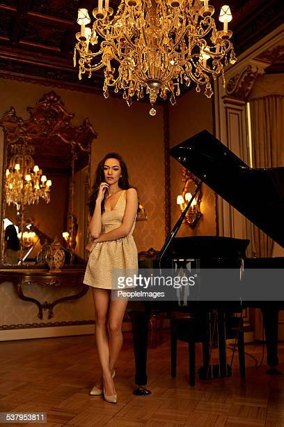 music and chandeliers - fabolous musician stock photos and pictures