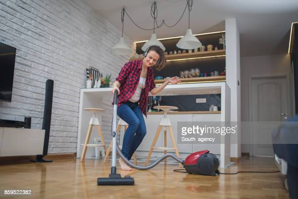 Music and cleaning