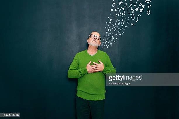 music and emotions - musical note stock photos and pictures
