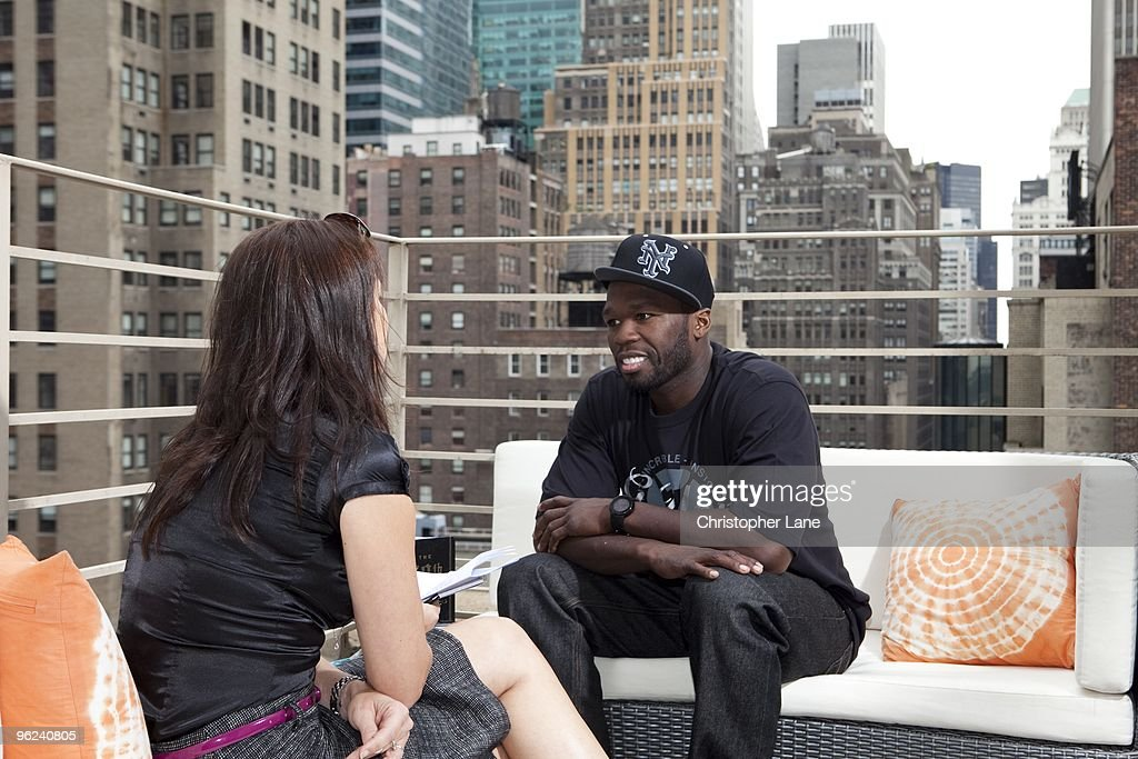 Music Artist 50 Cent is interviewed on September 22, 2009 in New York City.