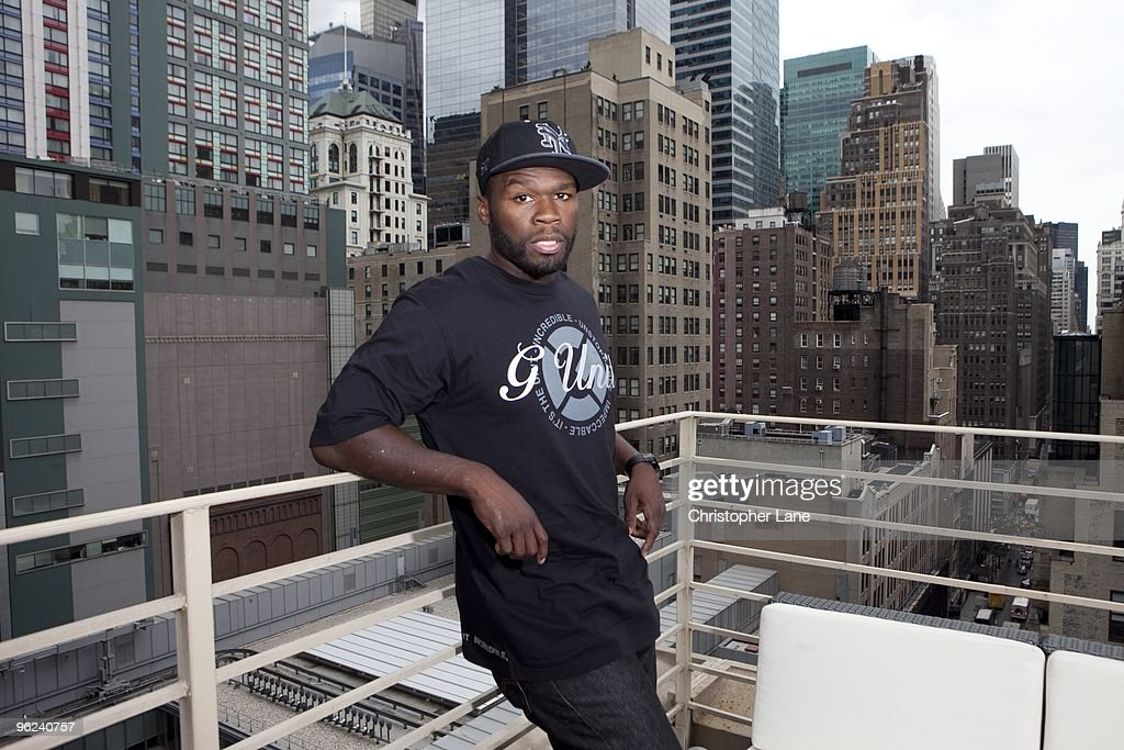 50 Cent Portrait Session : News Photo