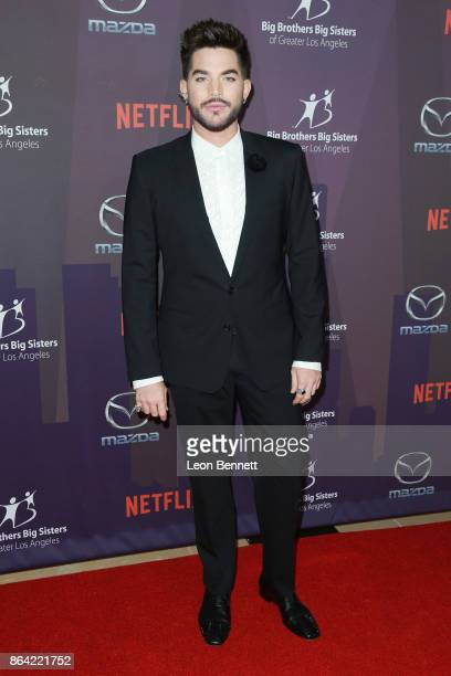 Music Artist Adam Lambert attends the Big Brothers Big Sisters Of Greater Los Angeles' 2017 Big Bash Live With Travis And Kelly at The Beverly Hilton...
