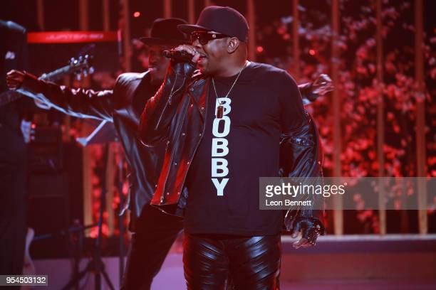 Music artist Bobby Brown performs onstage during VH1's 3rd Annual Dear Mama A Love Letter To Moms Inside Show at The Theatre at Ace Hotel on May 3...