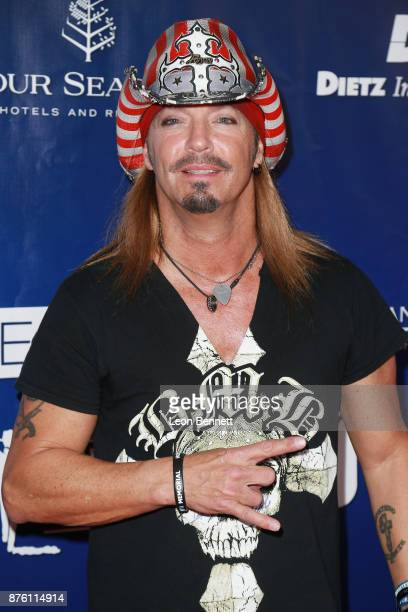 Music artist Bret Michaels attends the 28th Annual Talk Of The Town Gala at The Beverly Hilton Hotel on November 18 2017 in Beverly Hills California
