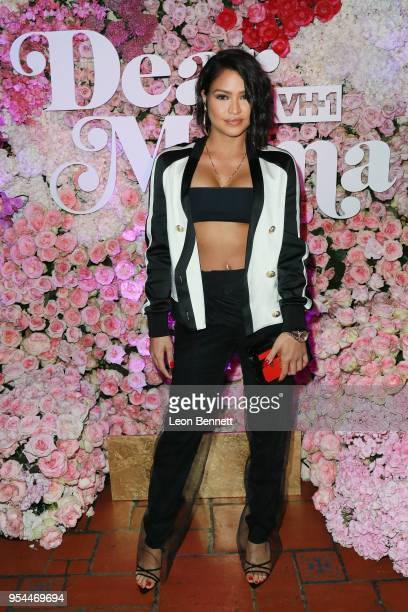 Music artist Cassie Ventura attends the VH1's 3rd Annual Dear Mama A Love Letter To Moms Cocktail Reception at The Theatre at Ace Hotel on May 3 2018...