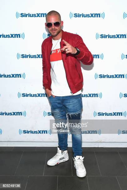 Music artist Collie Buddz visits at SiriusXM Studios on August 1 2017 in New York City