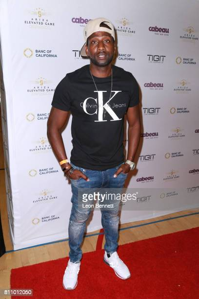 Music artist DeStorm Power attends the 3rd Annual Ariza Elevated Celebrity Charity Basketball Game on July 8 2017 in Woodland Hills California