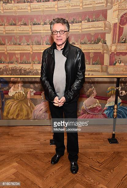 Music artist Frankie Valli attends 'Frankie Valli And The Four Seasons' Broadway Opening Night at LuntFontanne Theatre on October 21 2016 in New York...