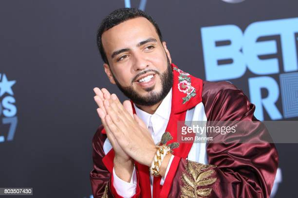 Music artist French Montana arrives at the 2017 BET Awards at Microsoft Theater on June 25 2017 in Los Angeles California