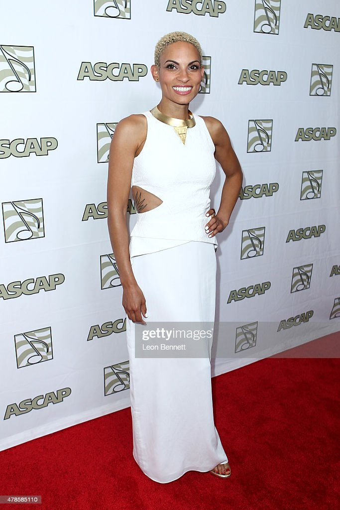 Music artist Goapele arrived at the 28th Annual ASCAP Rhythm And Soul Music Awards - Arrivals at the Beverly Wilshire Four Seasons Hotel on June 25, 2015 in Beverly Hills, California.