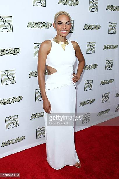 Music artist Goapele arrived at the 28th Annual ASCAP Rhythm And Soul Music Awards Arrivals at the Beverly Wilshire Four Seasons Hotel on June 25...