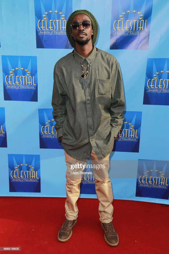 Music artist Gwaii attends the Celestial Awards Of Excellence at Alex Theatre on May 25, 2017 in Glendale, California.