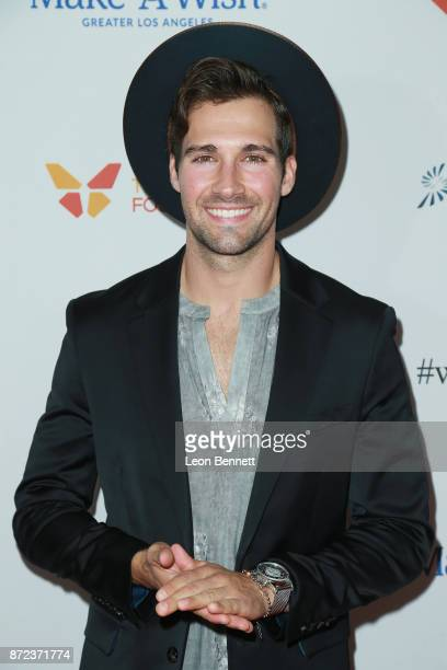 Music artist James Maslow attends the MakeAWish Greater Los Angeles 2017 Wish Gala at Hollywood Palladium on November 9 2017 in Los Angeles California