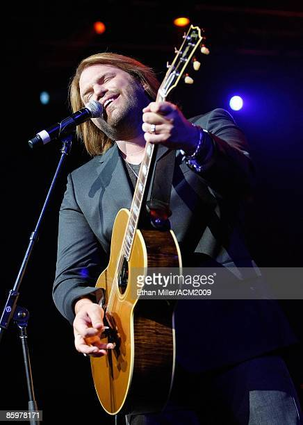 Music artist James Otto performs during the 44th annual Academy of Country Music Awards AllStar Jam at the MGM Grand Hotel/Casino April 5 2009 in Las...