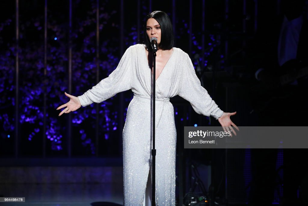 Music artist Jessie J performs onstage during VH1's 3rd Annual 'Dear Mama: A Love Letter To Moms' - Inside Show at The Theatre at Ace Hotel on May 3, 2018 in Los Angeles, California.