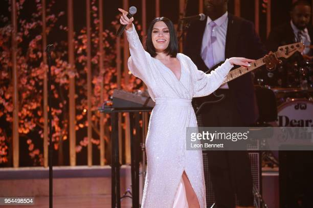 Music artist Jessie J performs onstage during VH1's 3rd Annual Dear Mama A Love Letter To Moms Inside Show at The Theatre at Ace Hotel on May 3 2018...