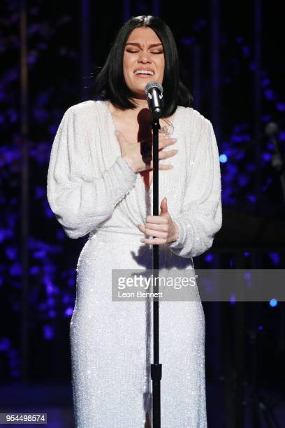 Music artist Jessie J performs onstage during VH1's 3rd Annual 'Dear Mama A Love Letter To Moms' Inside Show at The Theatre at Ace Hotel on May 3...