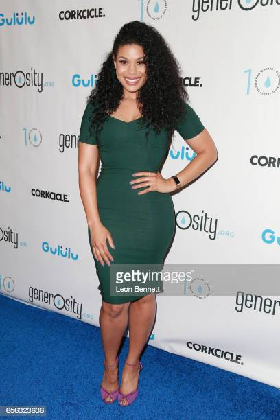 Music artist Jordin Sparks arrives at the Generosityorg Fundraiser For World Water Day at the Montage Hotel on March 21 2017 in Beverly Hills...
