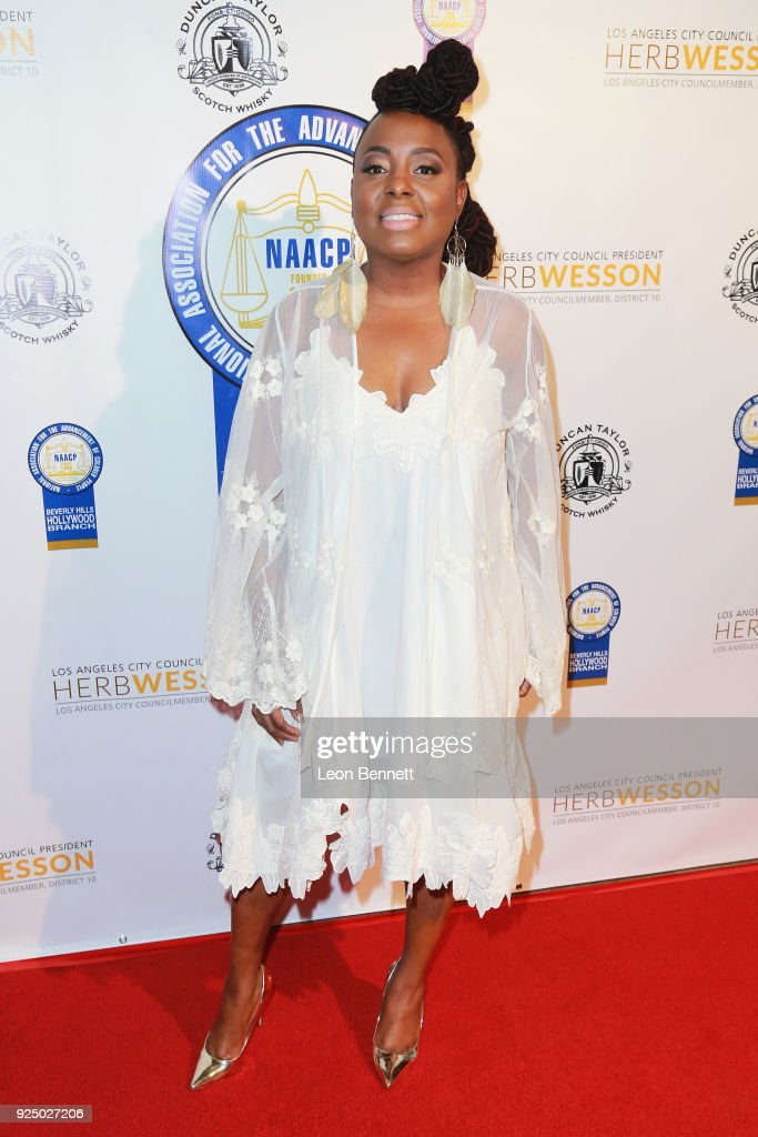 Music artist Ledisi attends the 27th Annual NAACP Theatre Awards at Millennium Biltmore Hotel on February 26, 2018 in Los Angeles, California.