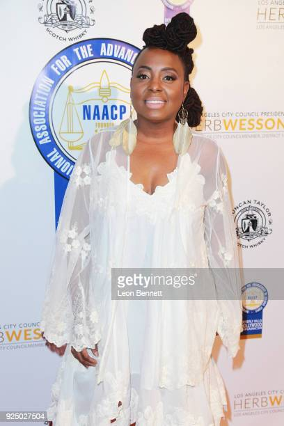 Music artist Ledisi attends the 27th Annual NAACP Theatre Awards at Millennium Biltmore Hotel on February 26 2018 in Los Angeles California
