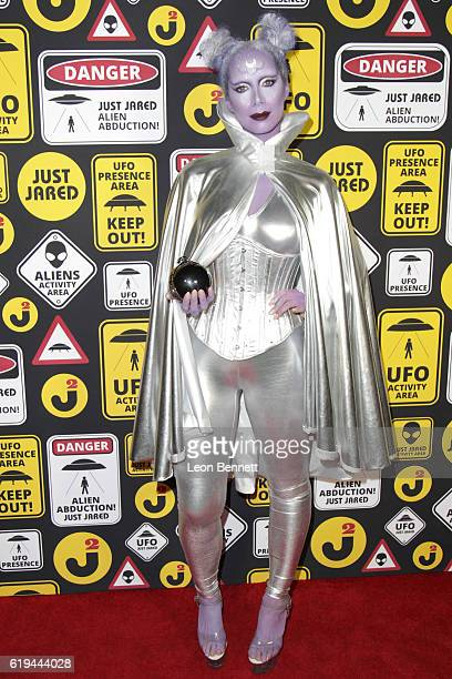 Music artist Leona Lewis arrives at the Just Jared's Annual Halloween Party Arrivals at Tenants of the Trees on October 30 2016 in Los Angeles...