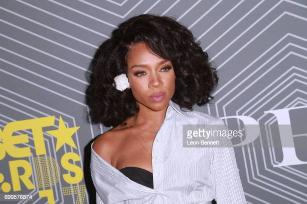Music artist Lil Mama arrived at the 2017 BET Awards 'PRE' at The London West Hollywood on June 21 2017 in West Hollywood California
