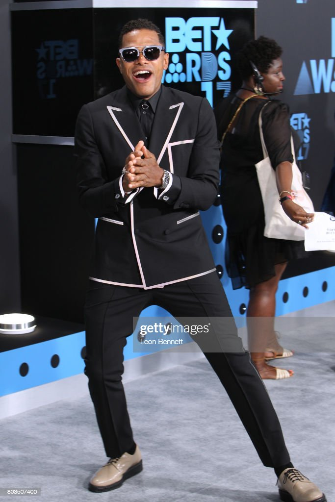 Music artist Maxwell arrives at the 2017 BET Awards at Microsoft Theater on June 25, 2017 in Los Angeles, California.