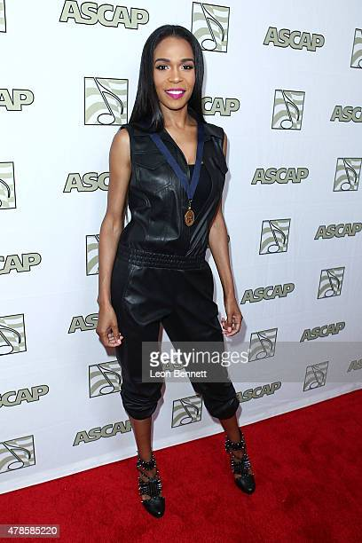 Music artist Michelle Williams arrived at the 28th Annual ASCAP Rhythm And Soul Music Awards Arrivals at the Beverly Wilshire Four Seasons Hotel on...