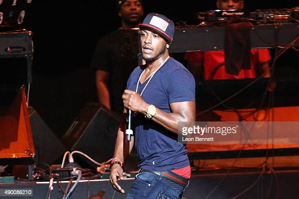 Music artist Mystikal performed at the 935 KDAY's 5th Annual Fresh Fest Coast Concert at The Shrine Auditorium on September 25 2015 in Los Angeles...