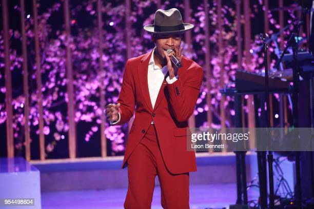 Music artist NeYo performs onstage during VH1's 3rd Annual 'Dear Mama A Love Letter To Moms' Inside Show at The Theatre at Ace Hotel on May 3 2018 in...