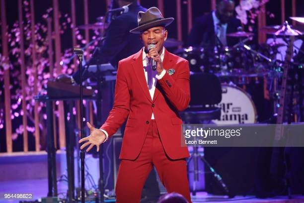 Music artist NeYo performs onstage during VH1's 3rd Annual Dear Mama A Love Letter To Moms Inside Show at The Theatre at Ace Hotel on May 3 2018 in...