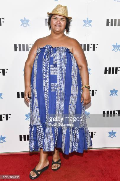 Music artist Paula Fuga attends the 37th Annual Hawaii International Film Festival Gala presented by Halekulani on November 10 2017 in Honolulu Hawaii