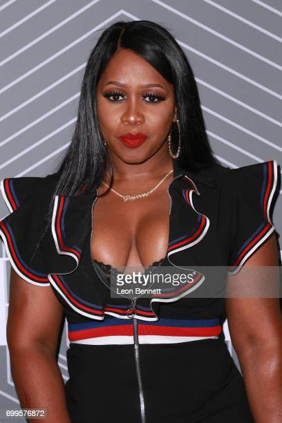 Music artist Remy Ma arrived at the 2017 BET Awards 'PRE' at The London West Hollywood on June 21 2017 in West Hollywood California