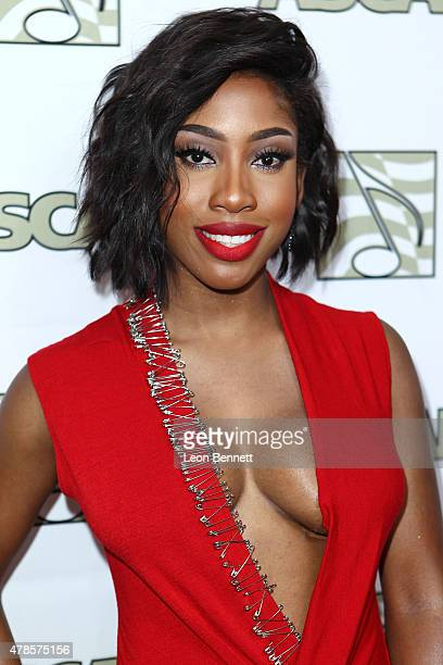 Music artist Sevyn Streeter arrived at the 28th Annual ASCAP Rhythm And Soul Music Awards Arrivals at the Beverly Wilshire Four Seasons Hotel on June...