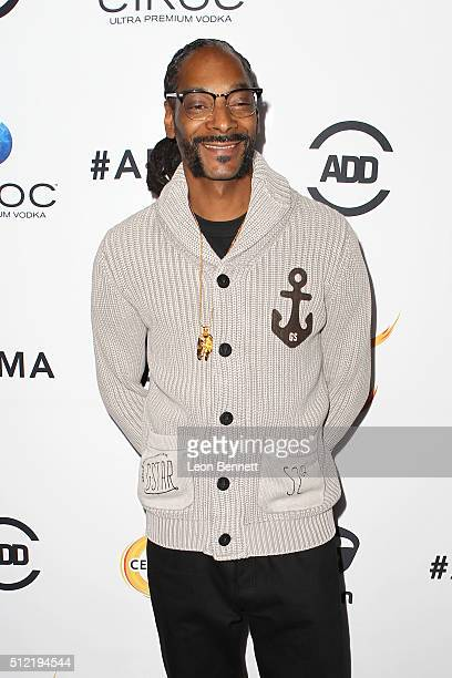 Music artist Snoop Dogg attends the All Def Movie Awards Arrivals at TCL Chinese 6 Theatres on February 24 2016 in Hollywood California