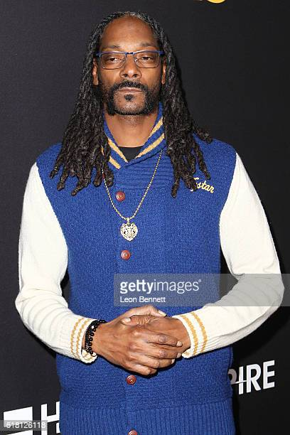 Music artist Snoop Dogg attends the Premiere Of Freestyle Releasing's 'Meet The Blacks' at ArcLight Hollywood on March 29 2016 in Hollywood California