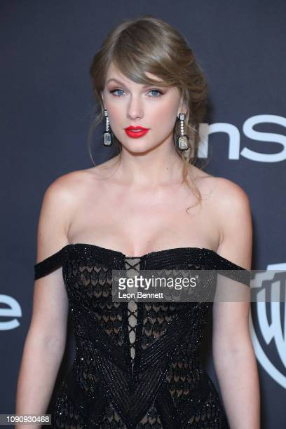 Music Artist Taylor Swift attends InStyle And Warner Bros Golden Globes After Party 2019 at The Beverly Hilton Hotel on January 06 2019 in Beverly...