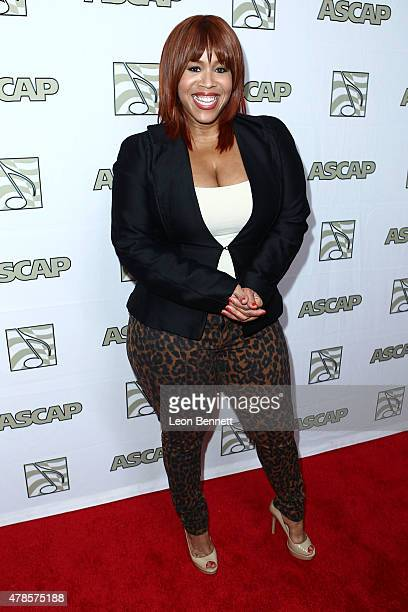 Music artist Tina Campbell of Mary Mary arrived at the 28th Annual ASCAP Rhythm And Soul Music Awards Arrivals at the Beverly Wilshire Four Seasons...