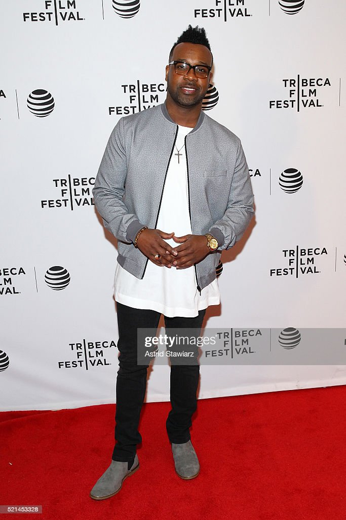 Music artist VaShawn Mitchell attends 'Little Boxes' Premiere - 2016 Tribeca Film Festival at Chelsea Bow Tie Cinemas on April 15, 2016 in New York City.