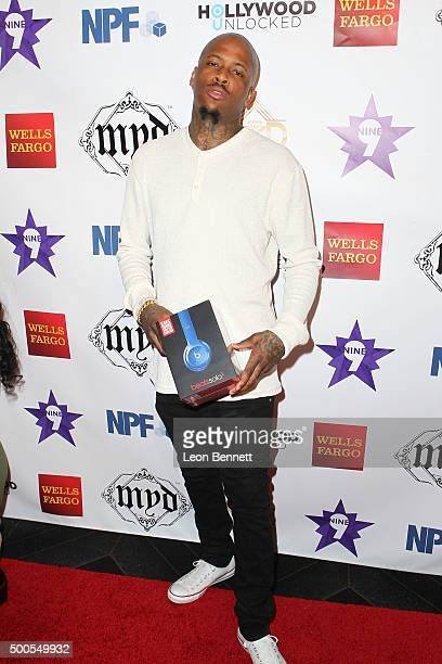 Music artist YG attended the Hill Harper And Nate Parker Present 8th Annual Manifest Your Destiny Toy Drive And Fundraiser at Avalon on December 8...