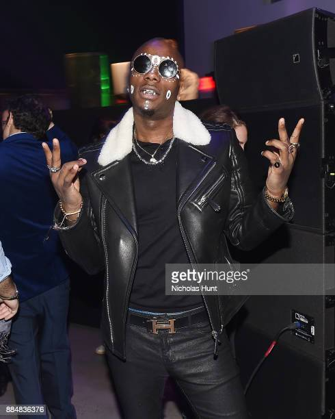 Music Artist Young Paris attends the Opening Ceremony Dance Left Benefit at Spring Studios on December 2 2017 in New York City
