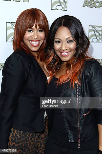 Music artistsTina Campbell and Erica Campbell of Mary Mary arrived at the 28th Annual ASCAP Rhythm And Soul Music Awards Arrivals at the Beverly...