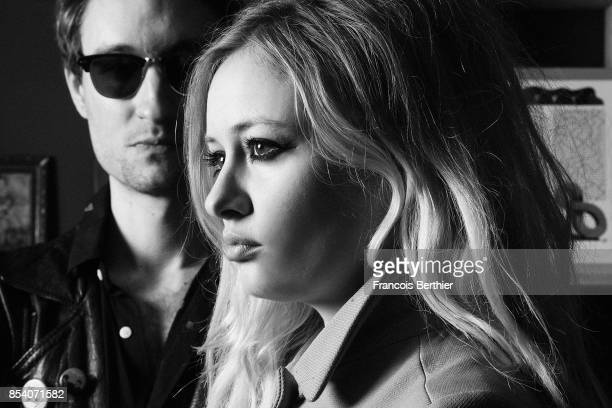 Music band CarreCourt is photographed for Self Assignment on February 22 2017 in Paris France