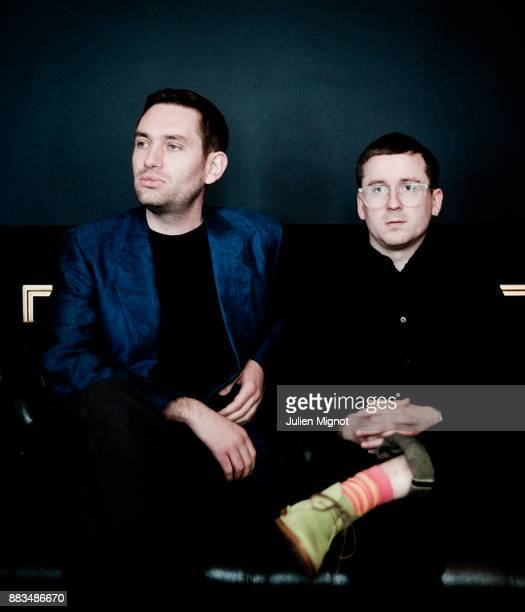 Music band Hot Chip is photographed for Vox Pop on April 2012 in Paris France