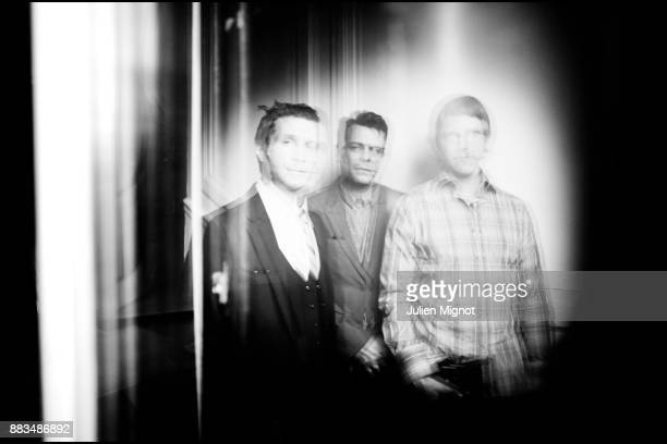 Music band Interpol is photographed for Vox Pop on July 2012 in Paris France
