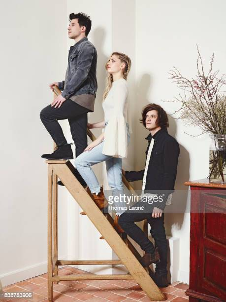 Music band London Gramma are photographed on March 10 2017 in Paris France PUBLISHED